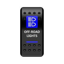 Тумблер Off-Road Lights (тип A)