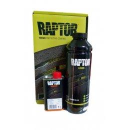 Черное защитное покрытие U-POL Raptor (1 литр)