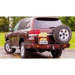 Задний силовой бампер ARB с калитками Toyota Land Cruiser 200 2015-...