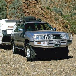 Силовой бампер ARB Delux Toyota LC 105 1997-2007