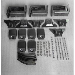 Крепление на водосток для багажников 125мм (6 опор)