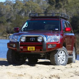 Силовой бампер ARB Sahara Toyota LC 200 2007-2012