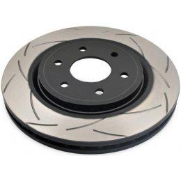 Передний тормозной диск DBA T2 Slot BMW X5