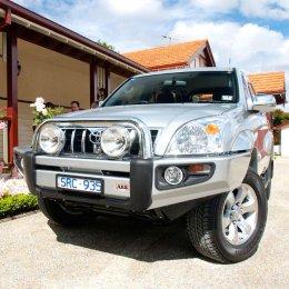 Силовой бампер ARB Sahara LC Prado 120 2003-2009