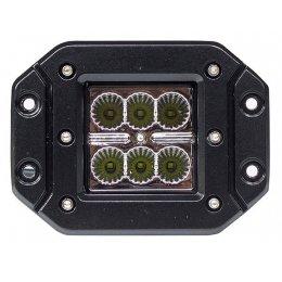 Встраиваемая светодиодная фара 18Вт