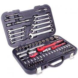 Профессиональный набор инструмента INTERTOOL ET-6082 (82 ед)