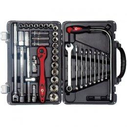 Профессиональный набор инструмента INTERTOOL ET-7039 (39 ед)