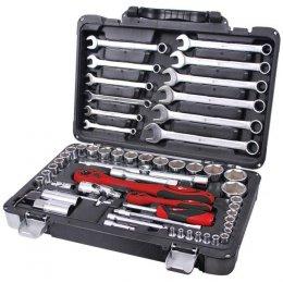 Профессиональный набор инструмента INTERTOOL ET-6061 (61 ед)