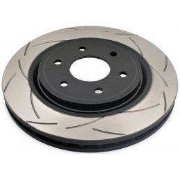 Задний тормозной диск DBA T2 Slot Porsche Cayenne