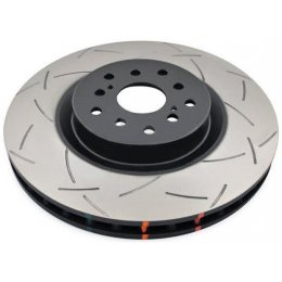 Задний тормозной диск DBA T3 Slotted Porsche Cayenne